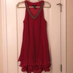 Alfani Red Pleated Dress 💃🏻